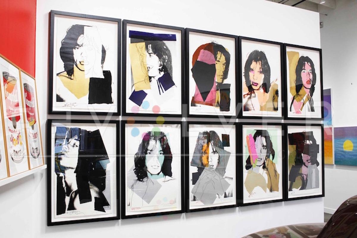 Andy Warhol - Mick Jagger F.S. II 139 hanging jpg
