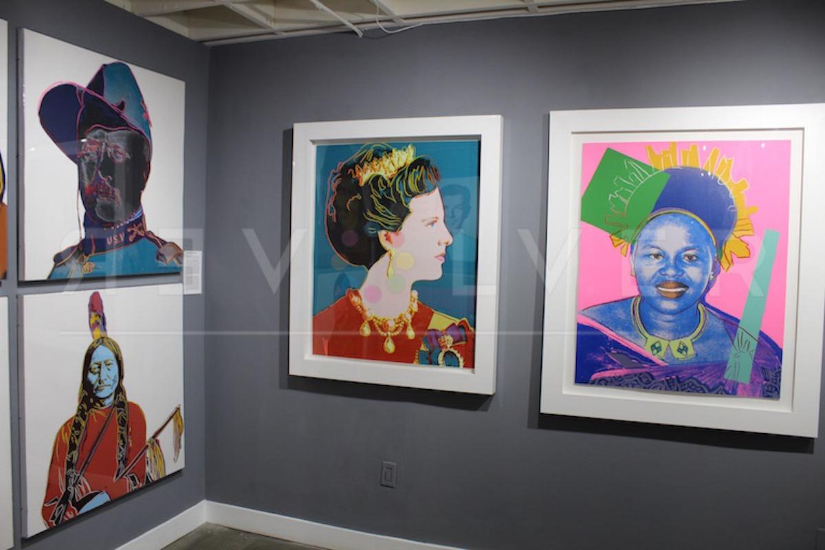 Andy Warhol - Queen Margarethe F.S. II 343 hanging jpg