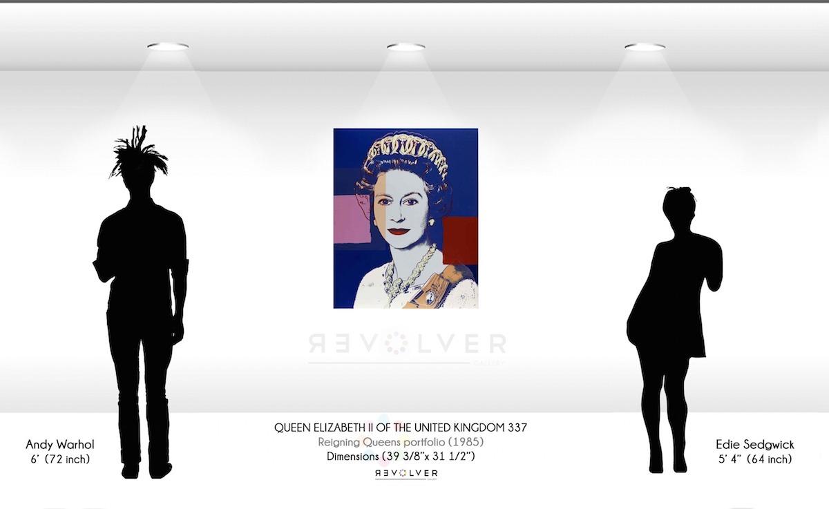 Andy Warhol - Queen Elizabeth 337 wd jpg