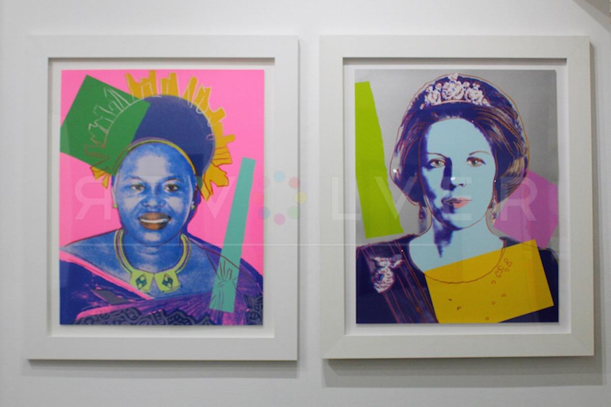 Andy Warhol - Queen Ntombi F.S. II 346 TP hanging jpg