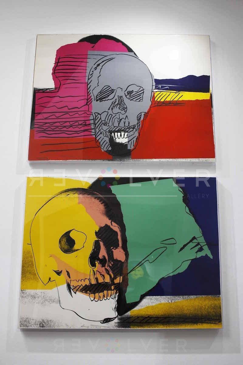 Andy Warhol - Skull F.S. II 158 hanging jpg