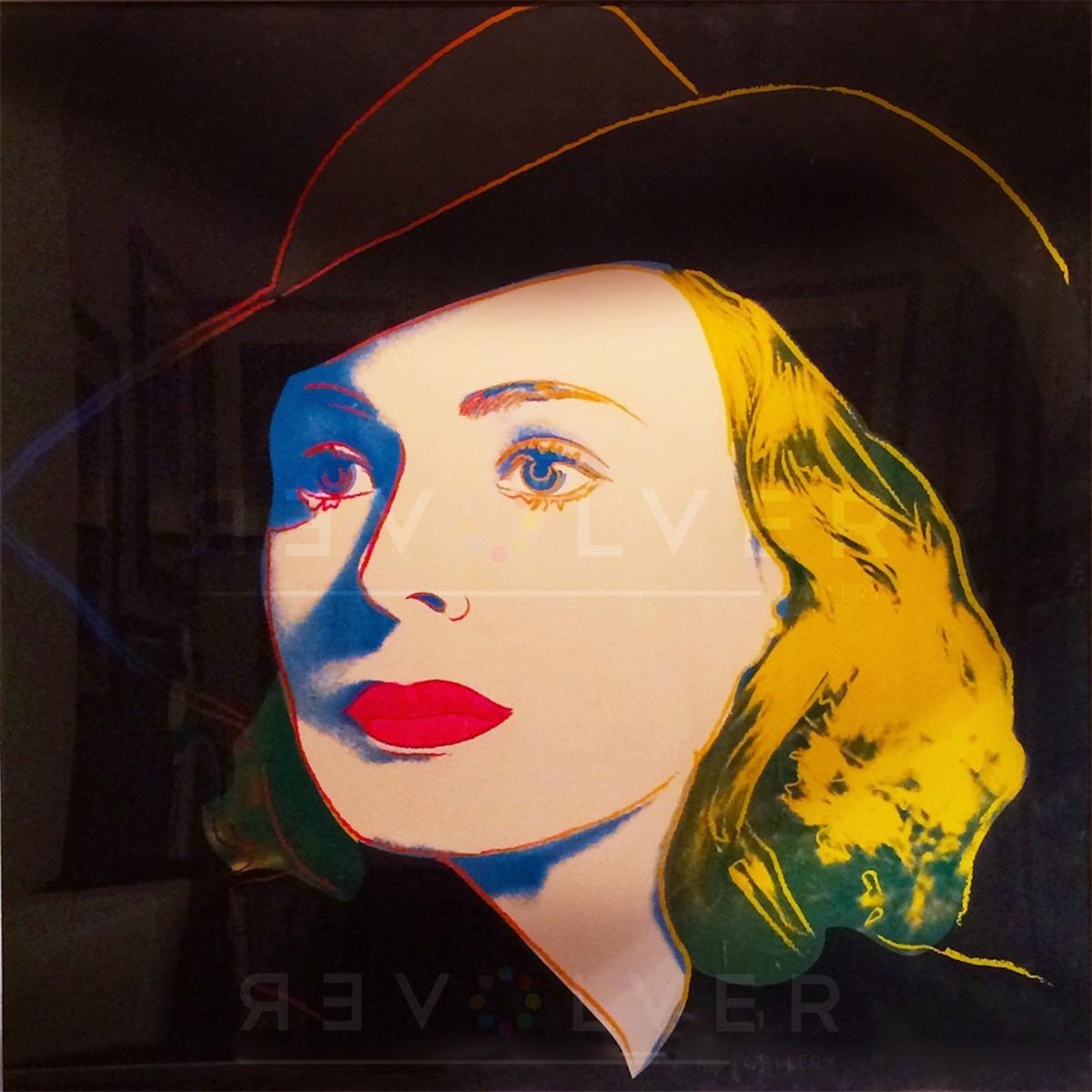 Andy Warhol - Ingrid Bergman with Hat F.S. II 315 TP jpg