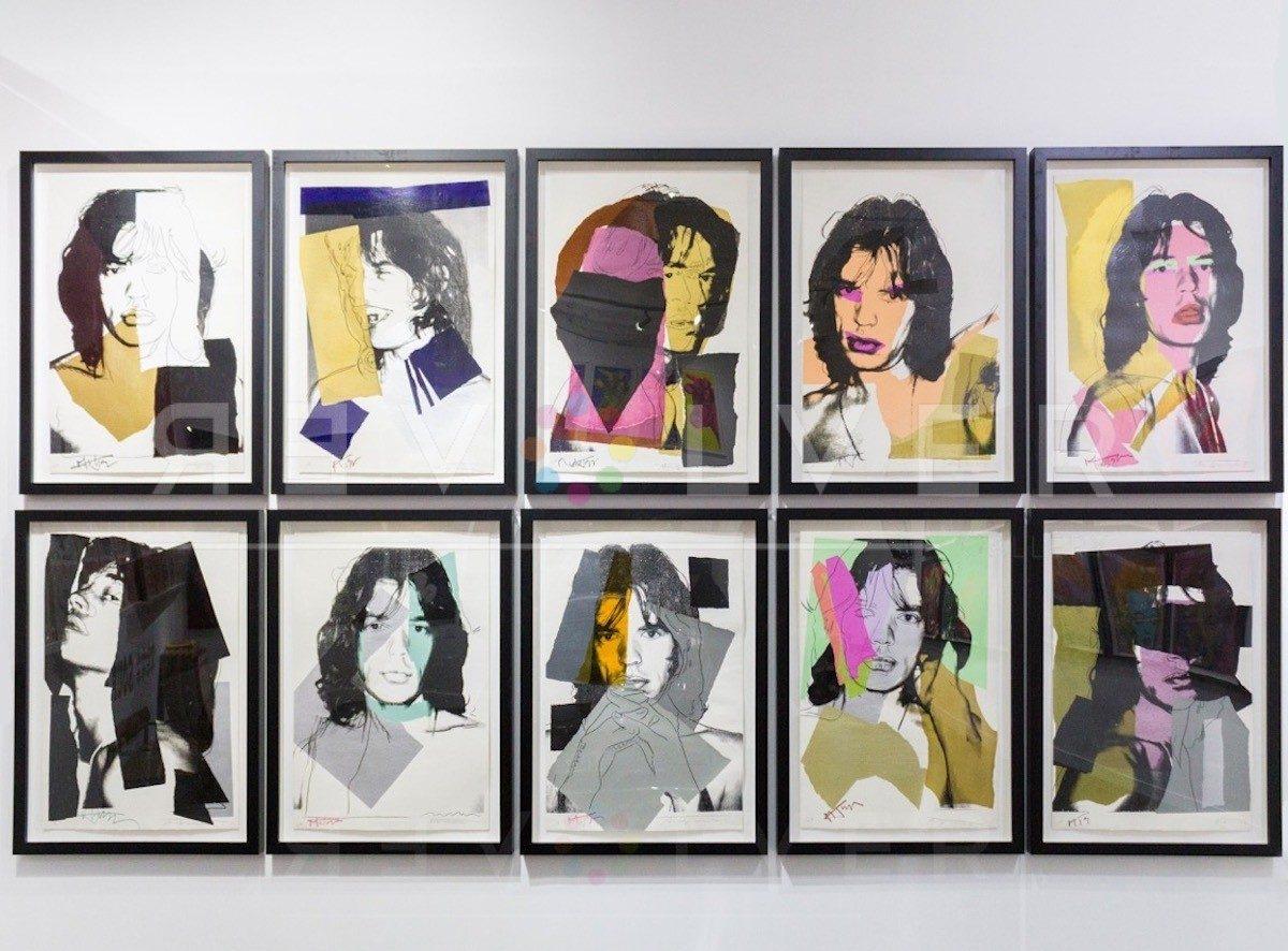 Andy Warhol - Mick Jagger F.S. II 140 hanging jpg