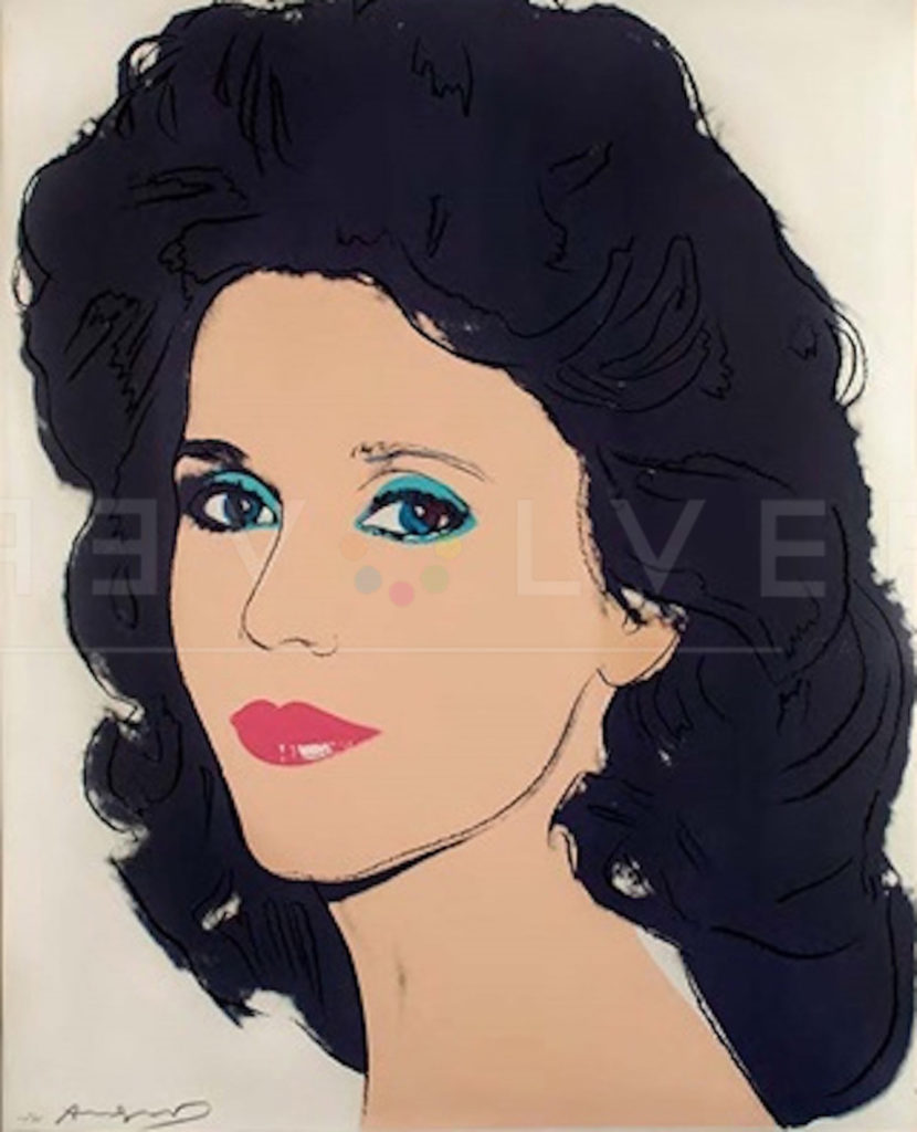Andy Warhol - Jane Fonda F.S. II 268 jpg