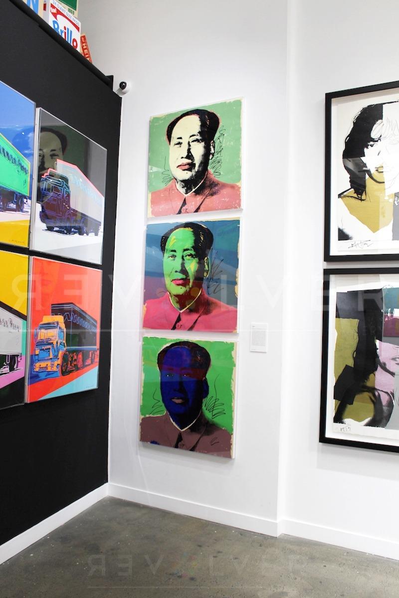 Andy Warhol - Mao F.S. II 90 hanging jpg