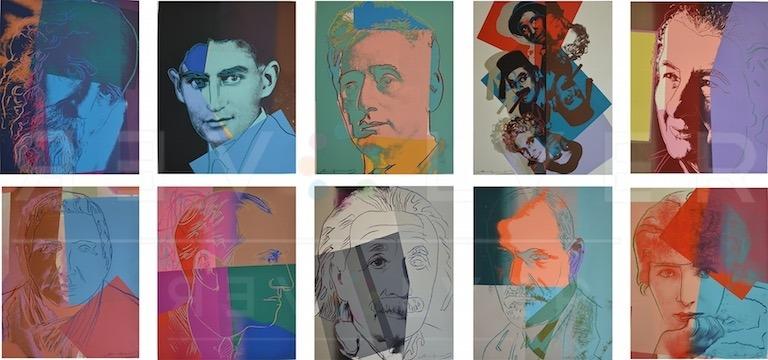 Andy Warhol - Ten Portraits of Jews of the Twentieth Century TP jpg