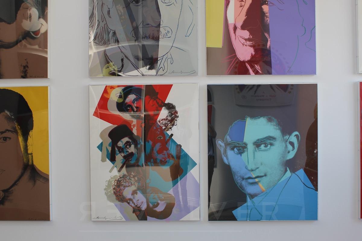 Andy Warhol - Franz Kafka F.S. II 226 hanging jpg