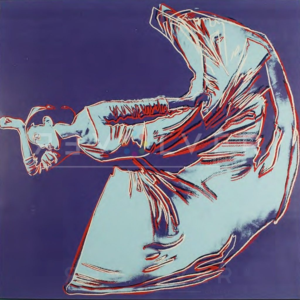 Andy Warhol - Letter to the World (The Kick) unique framed jpg