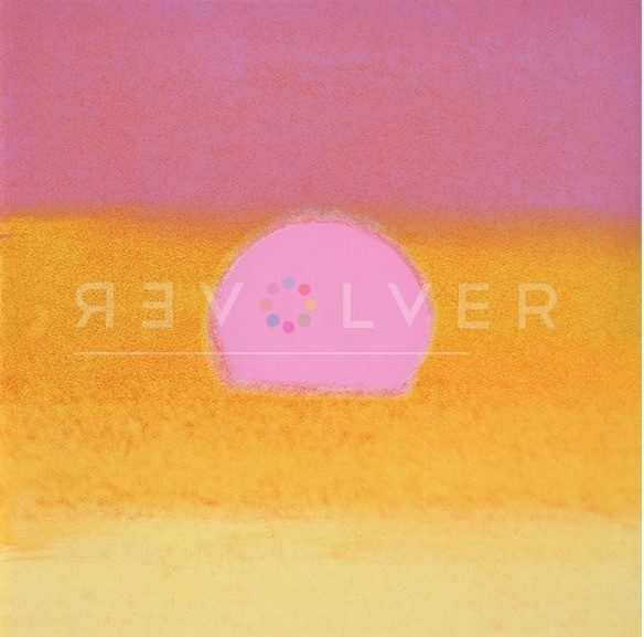 Andy Warhol - Sunset (Pink and Yellow) jpg