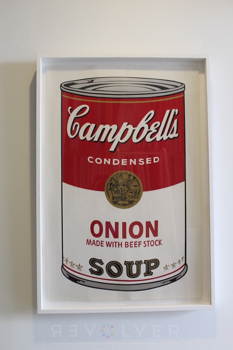 Andy Warhol, Onion 47 screenprint from the Campbell's Soup I complete portfolio.