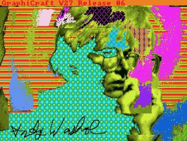 finding warhol amiga 1000 art 2