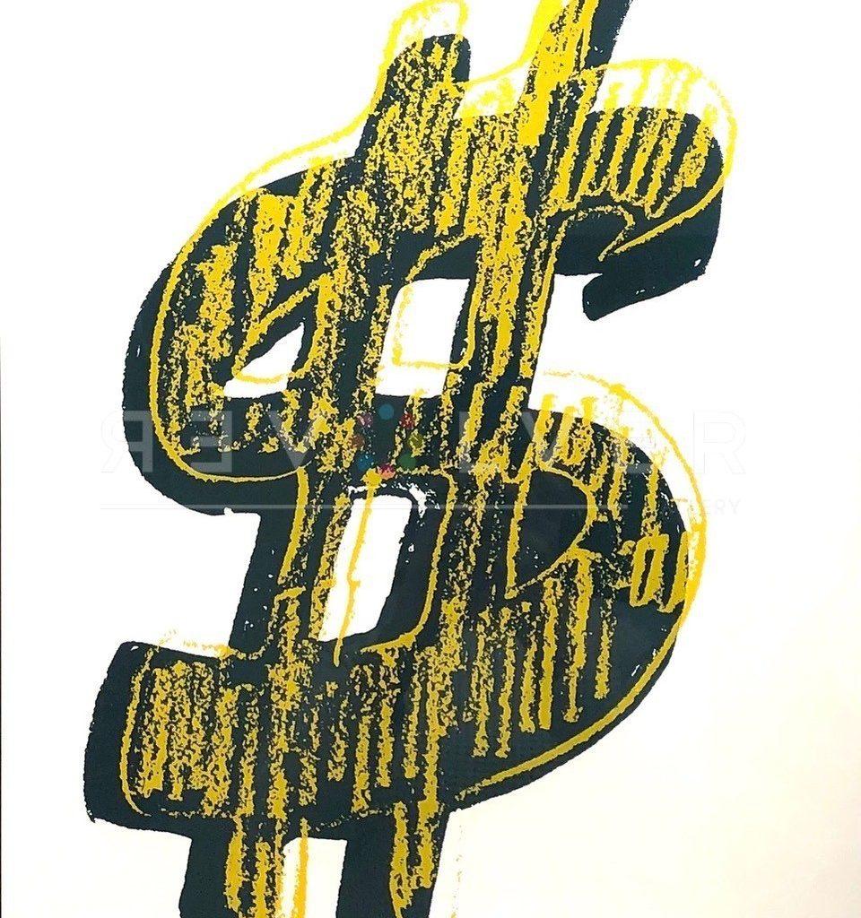 Andy Warhol - Dollar Sign
