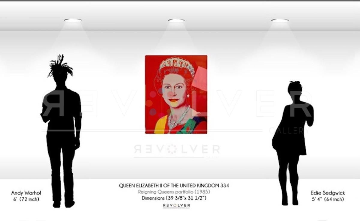 Andy Warhol - Queen Elizabeth F.S. II 334 TP