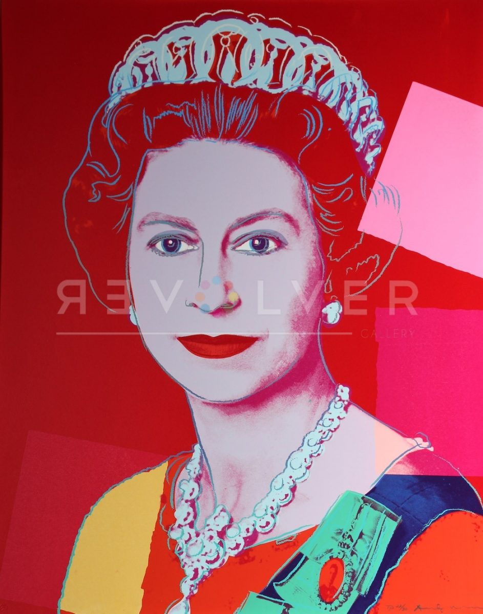 Andy Warhol - Queen Elizabeth 334 TP jpg
