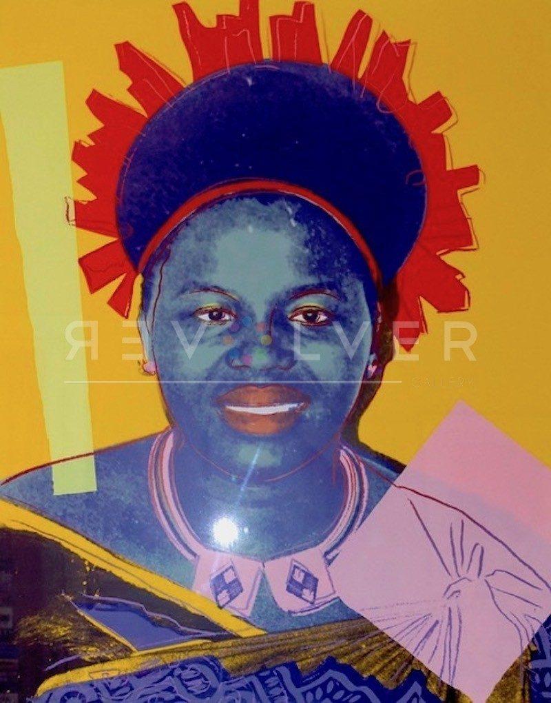 Andy Warhol - Queen Ntombi