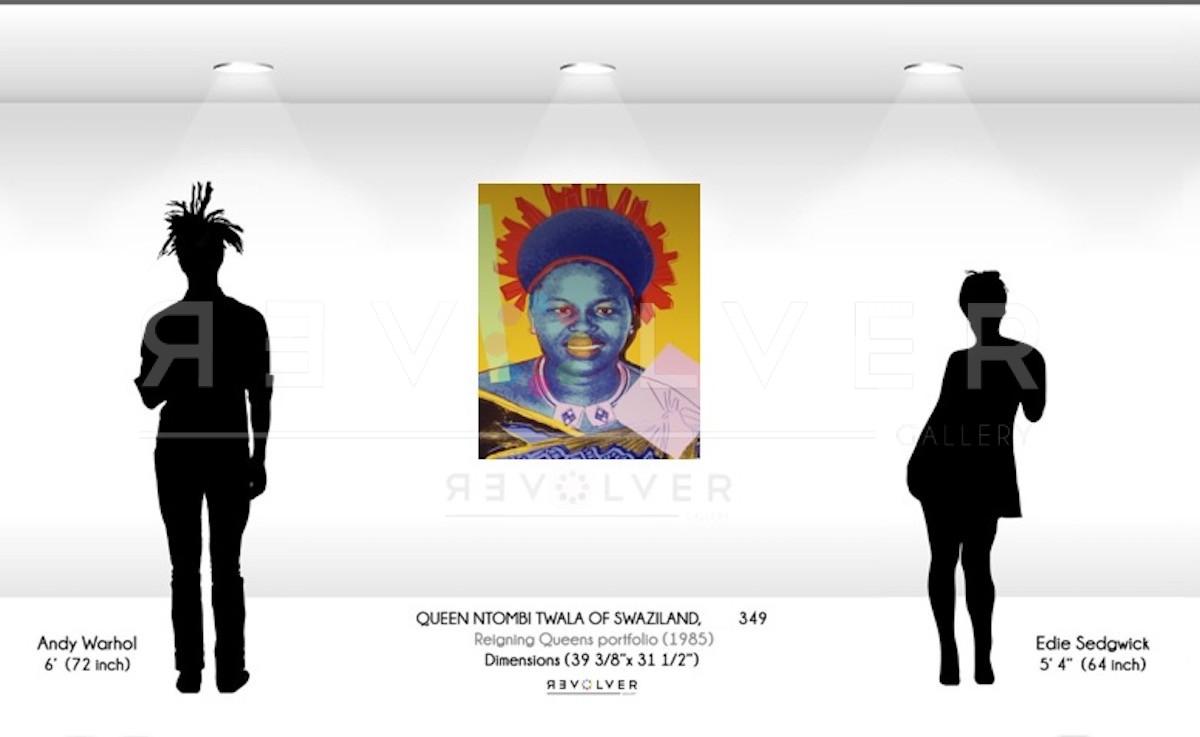 Andy Warhol - Queen Ntombi 349 TP