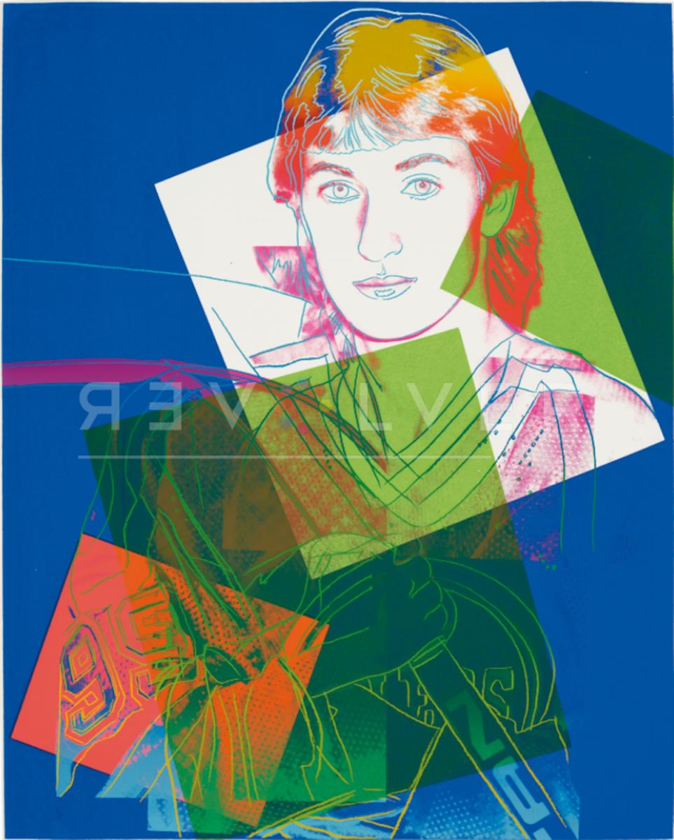 Andy Warhol - Wayne Gretzky F.S. 306 TP