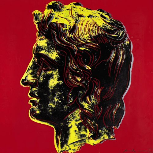 Andy Warhol Alexander the Great (FS.II.292), with Revolver Gallery watermark.