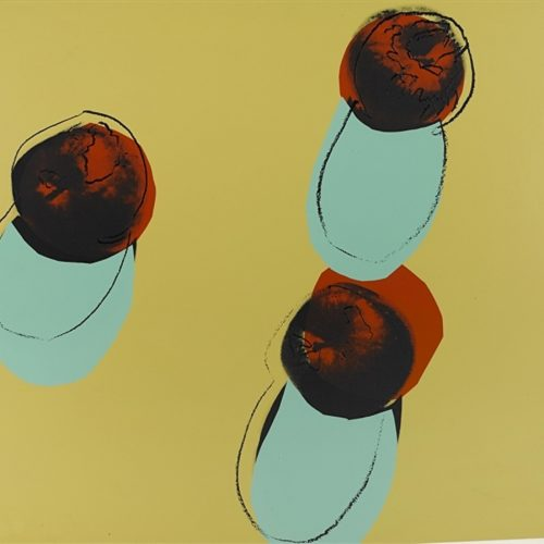 Andy Warhol – Space Fruit Apples 200