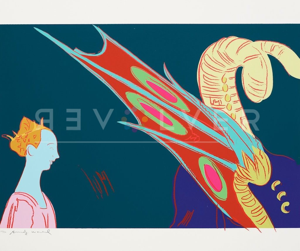 Andy Warhol St. George and the Dragon 237