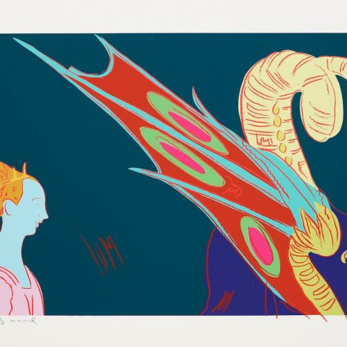 Andy Warhol – St. George and the Dragon 237