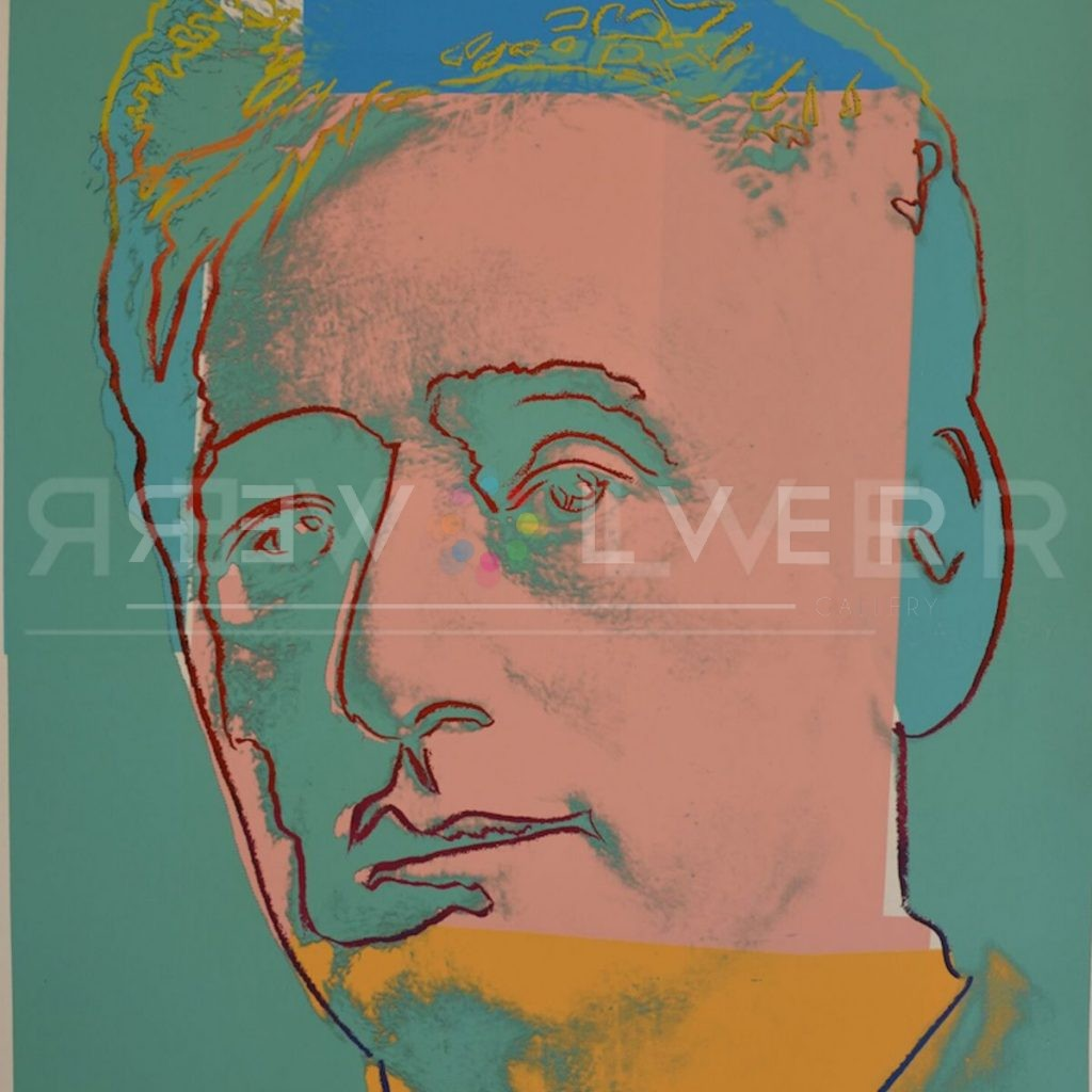 Stock photo of Louis Brandeis 230 (Trial Proof) by Andy Warhol from 1980.