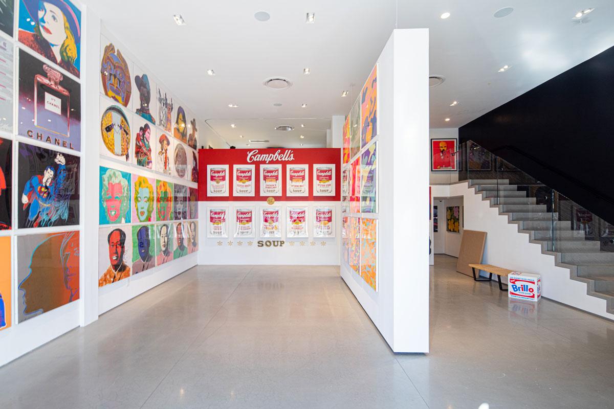 Inside Revolver Gallery on Sunset Blvd