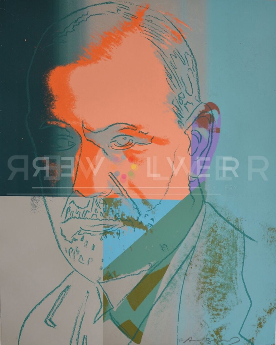Picture of Sigmund Freud (FS II.235) (Trial Proof), 1980, stock version, by Andy Warhol