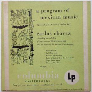 Columbian Masterworks Album Cover.