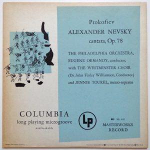 Columbian Long Playing Album Cover