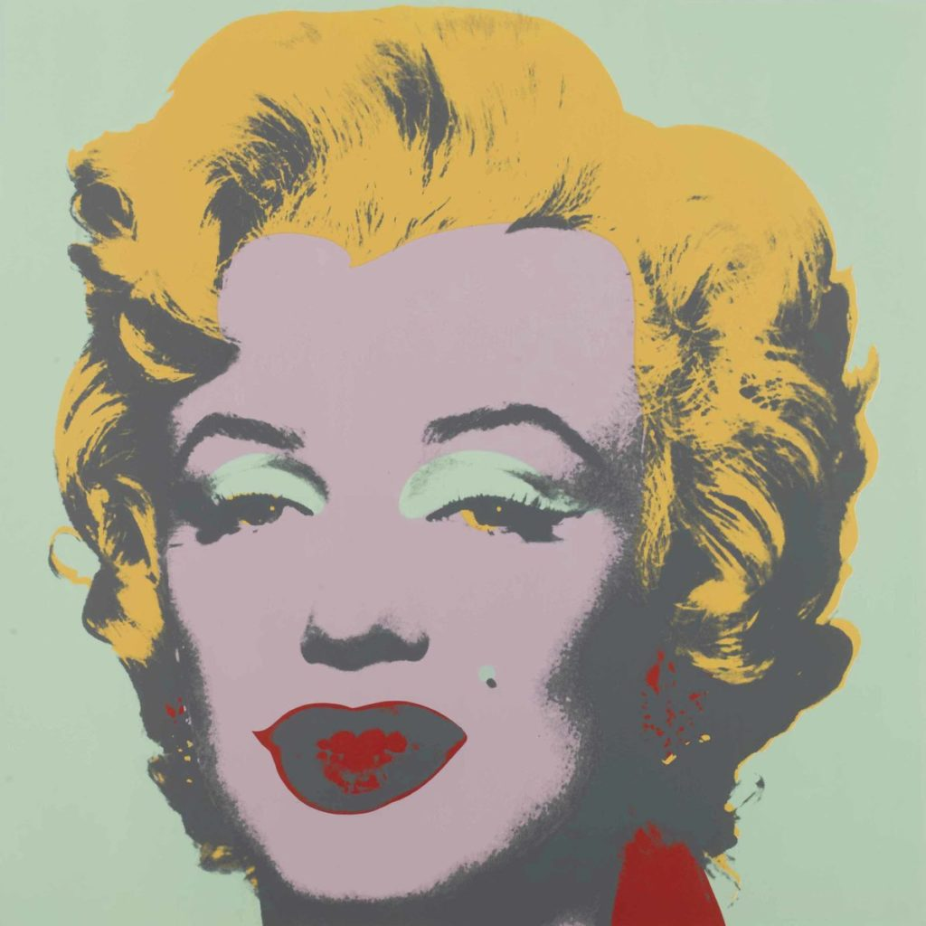 Picture of Stock Marilyn: one plate, 1967, by Andy Warhol