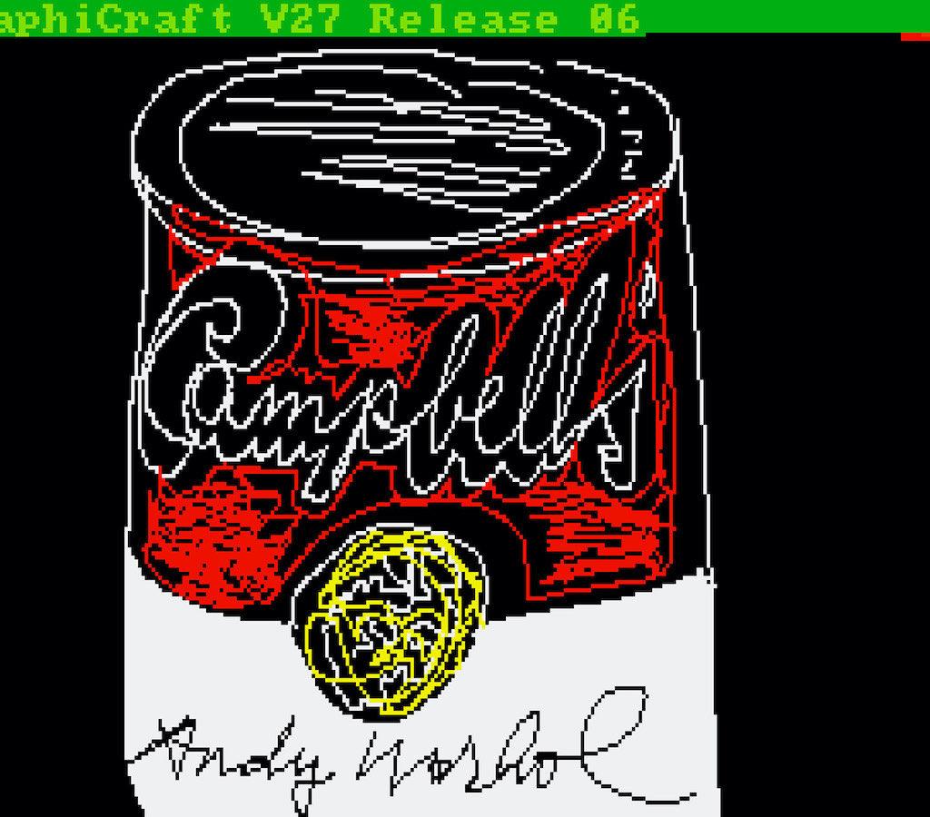 Campbell's Soup digital art