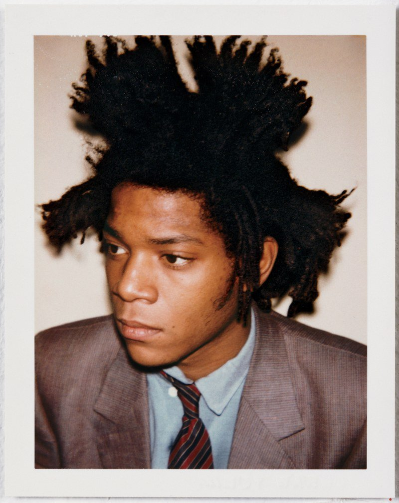 Jean Michel Basquiat is one of Warhol's most famous affiliates.