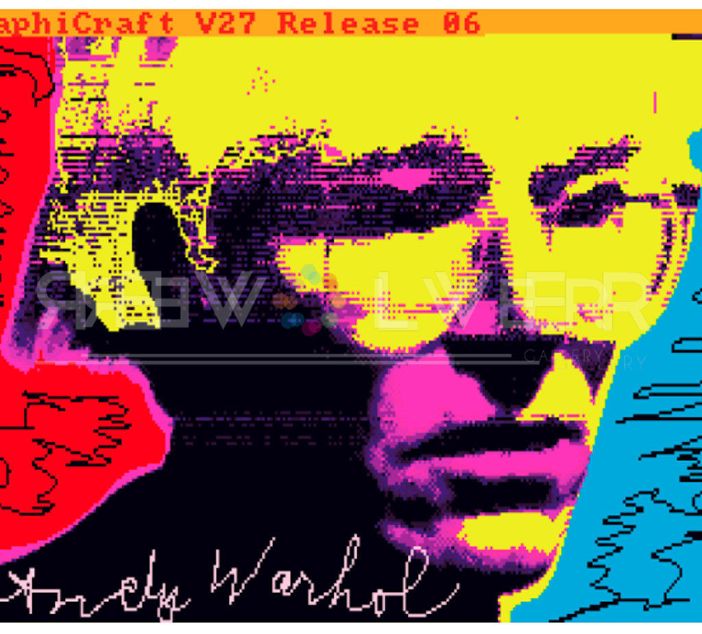 Andy Warhol NFT: Untitled (Self-Portrait) featured image.